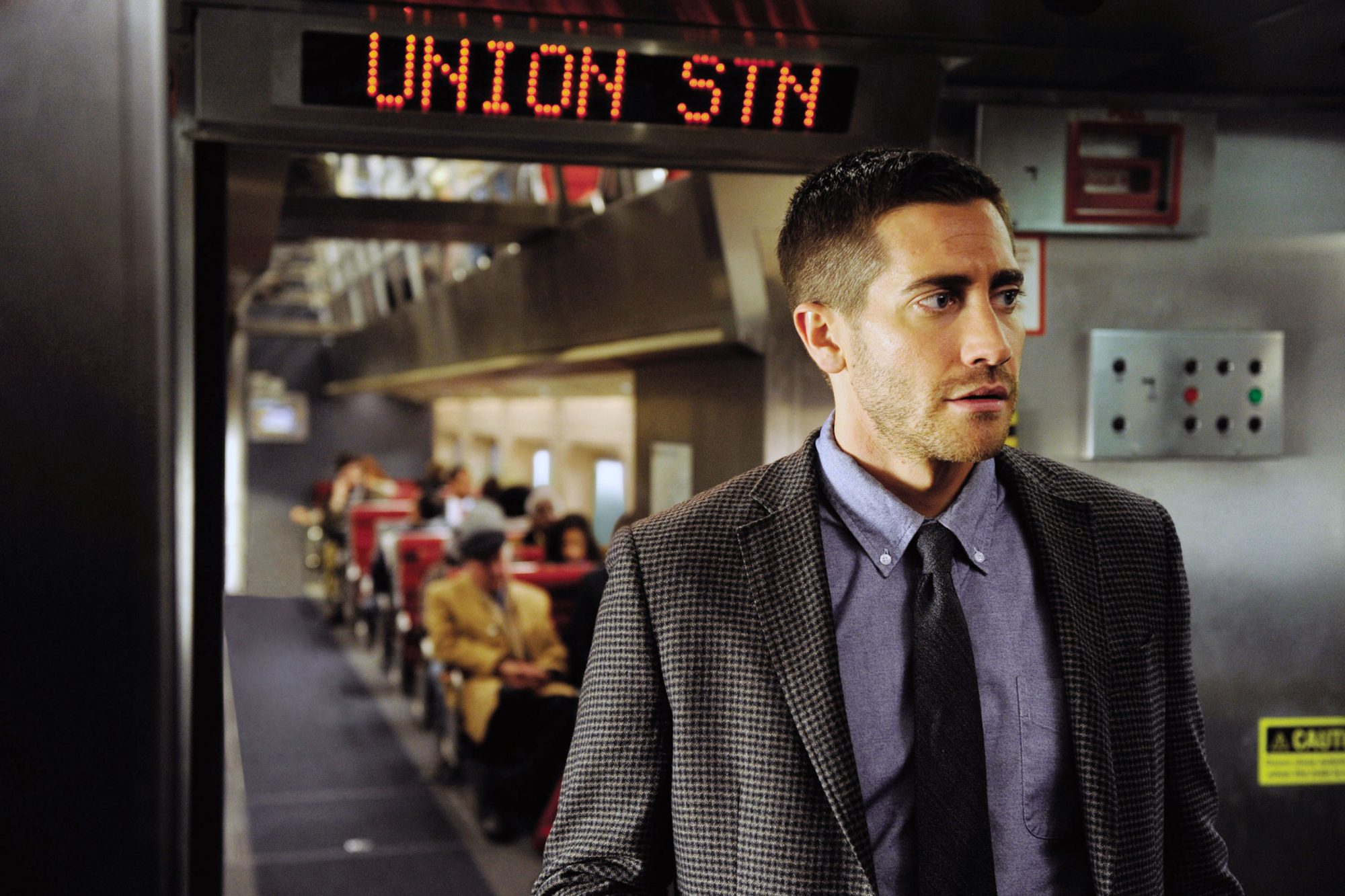 SOURCE CODE, Jake Gyllenhaal, 2011, ph: Jonathan Wenk/©Summit Entertainment/courtesy Everett Collect