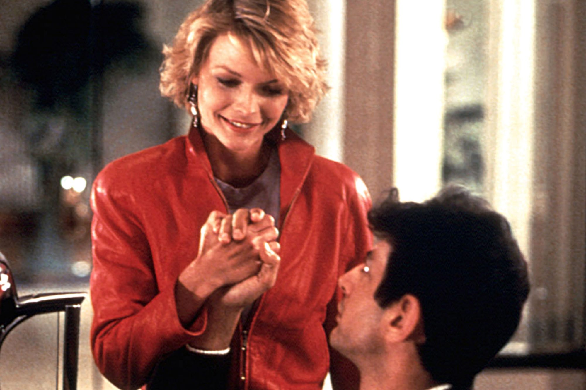 INTO THE NIGHT, Michelle Pfeiffer, Jeff Goldblum, 1985, © Universal/courtesy Everett Collection