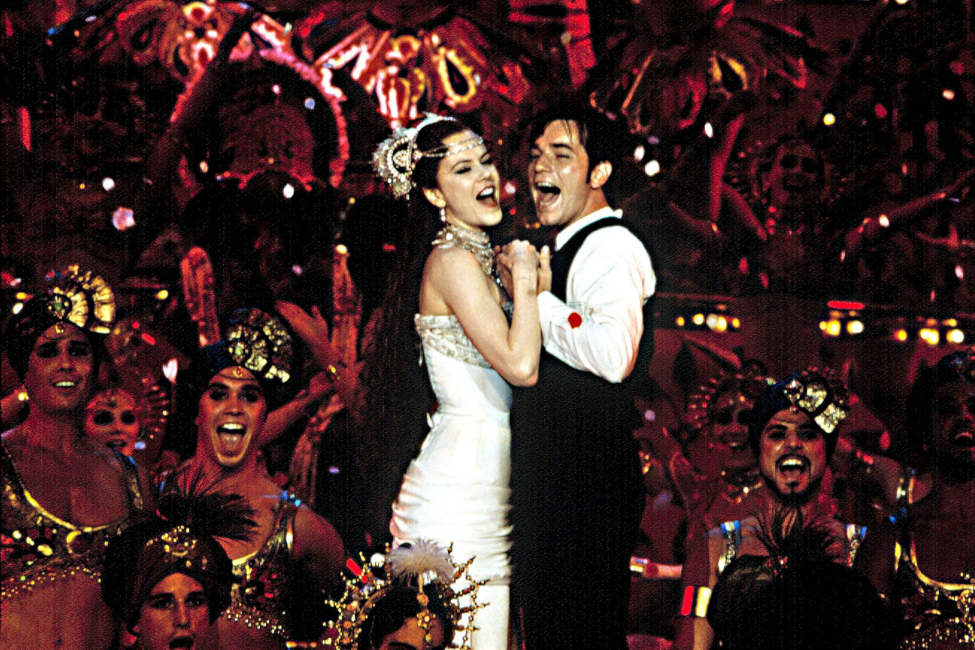 MOULIN ROUGE!, Nicole Kidman, Ewan McGregor, 2001, TM & Copyright (c) 20th Century Fox Film Corp. Al