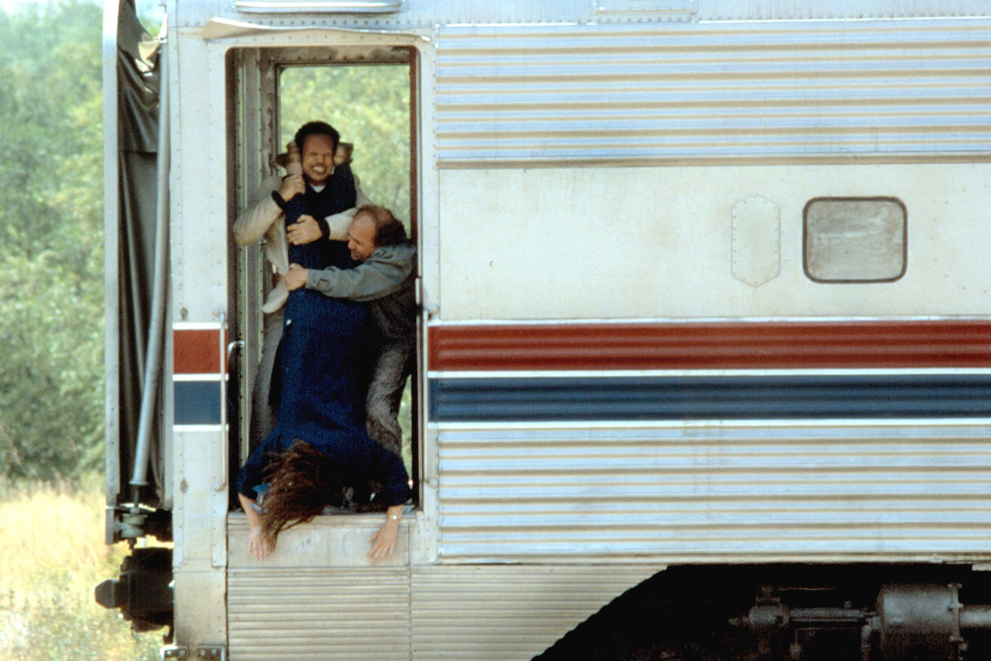 THROW MOMMA FROM THE TRAIN, Billy Crystal, Danny DeVito, 1987