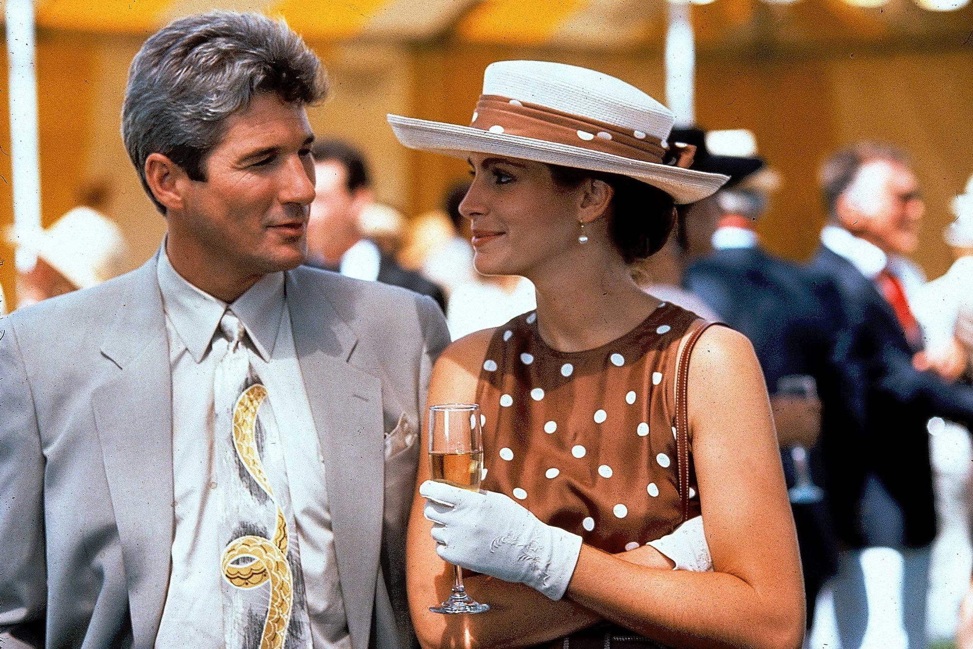 Pretty Woman (1990)(L) Richard Gere and Julia Roberts