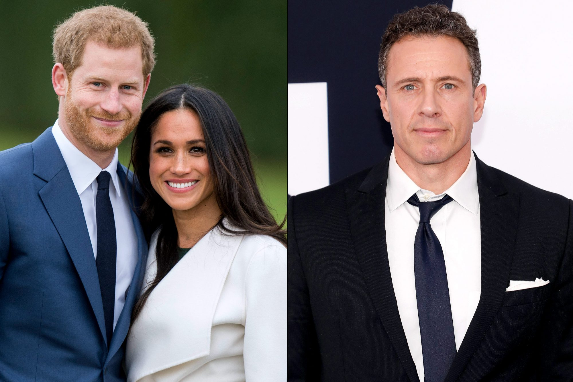 Prince Harry / Meghan Markle / Chris Cuomo