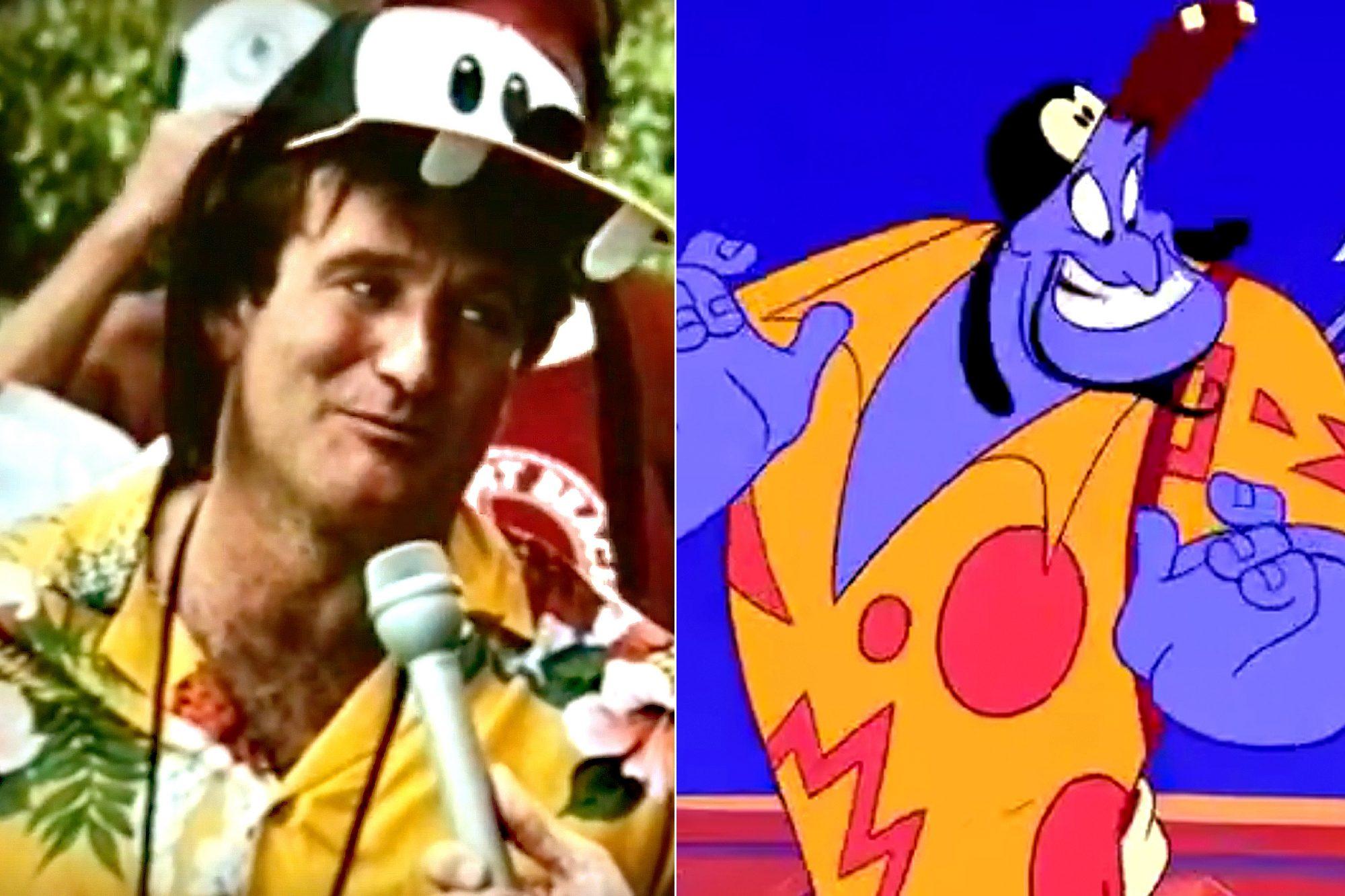 Robin Williams Back to Neverland / Robin Williams Aladdin
