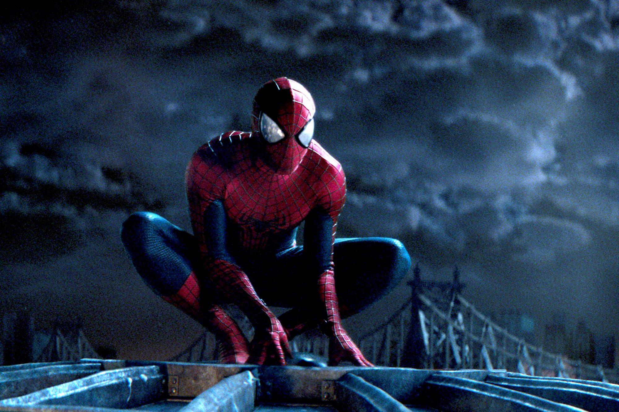 THE AMAZING SPIDER-MAN 2, Andrew Garfield, 2014. /©Columbia Pictures/courtesy Everett Collection