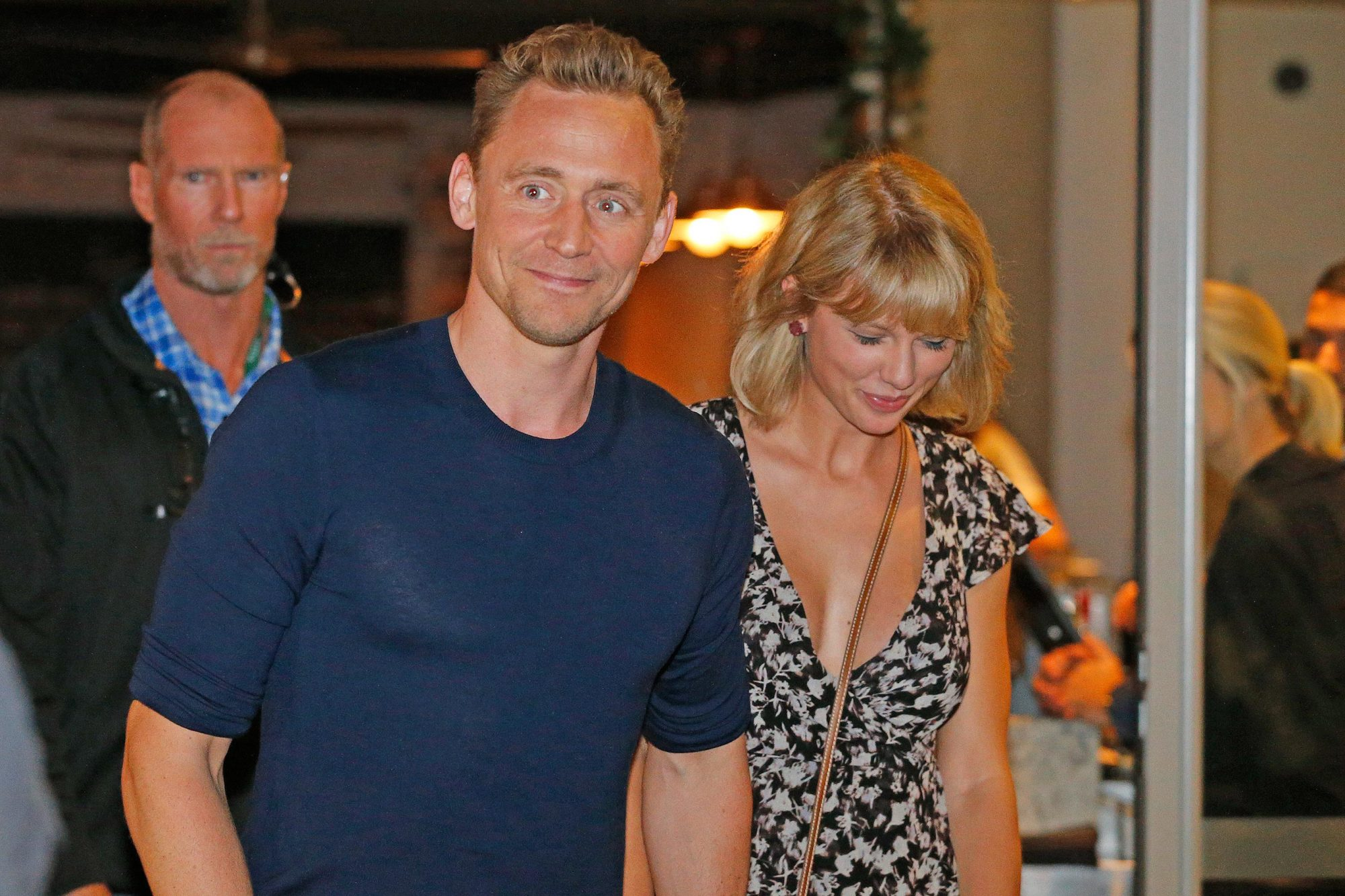 Tom Hiddleston And Taylor Swift Sighting In Broadbeach