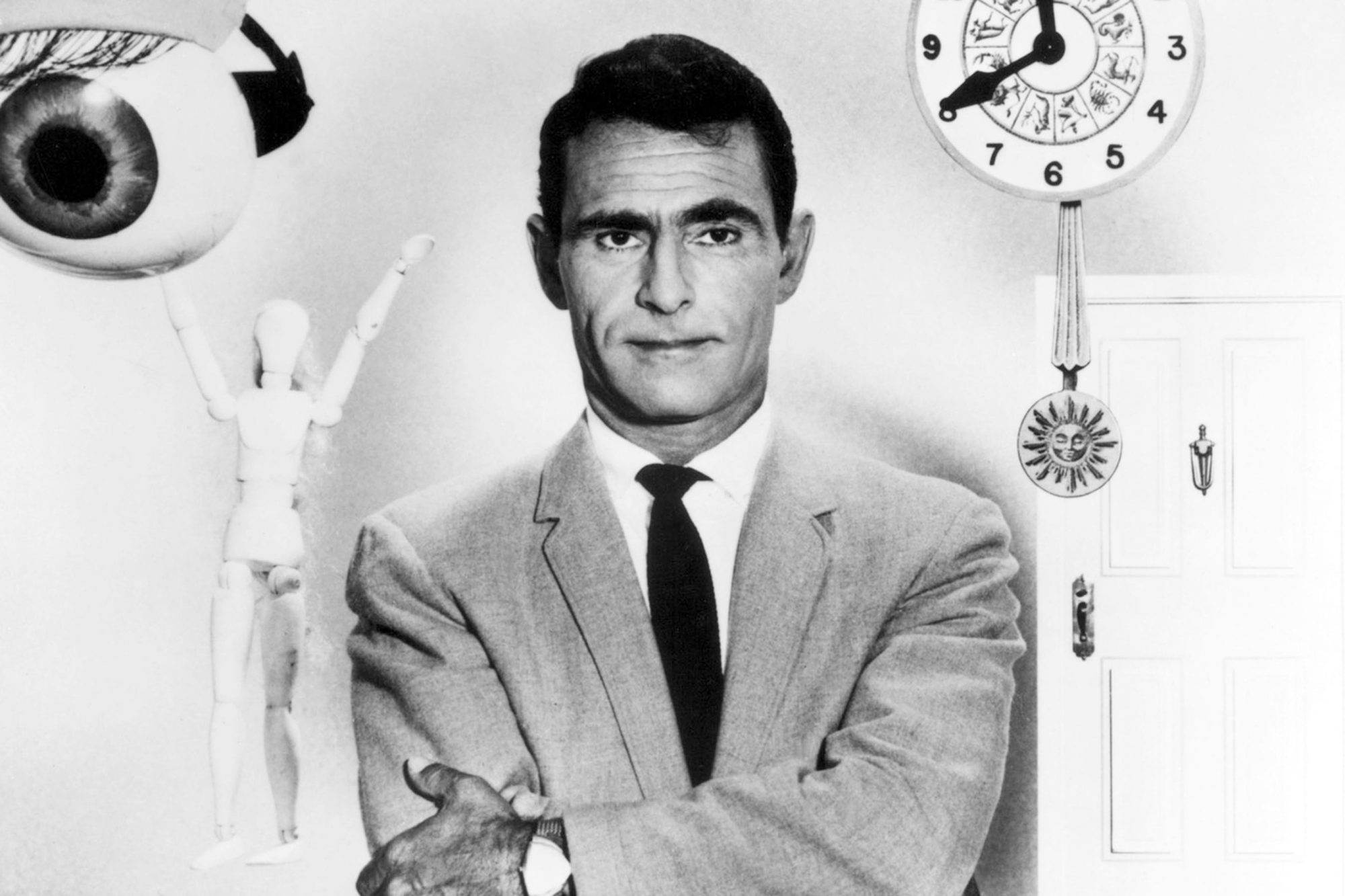 THE TWILIGHT ZONE, Rod Serling, 1959-64