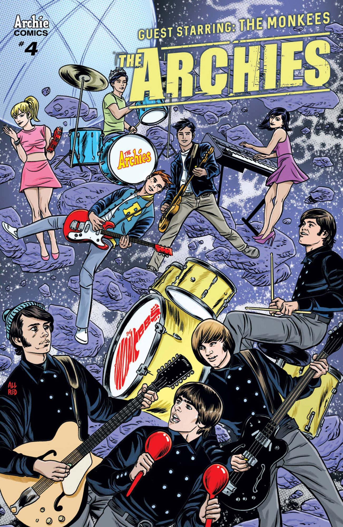 TheArchies#4-Allred
