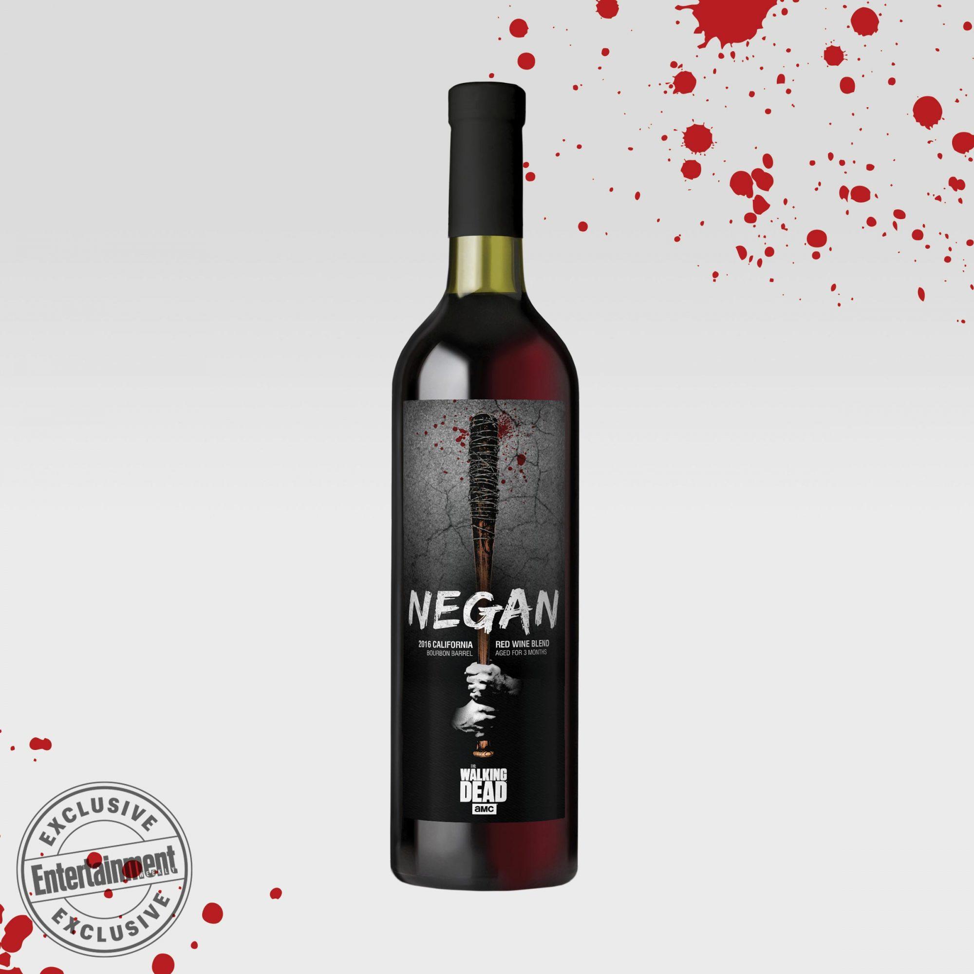 AMC & Lot18's 'The Walking Dead Wine Collection' CR: AMC & Lot18