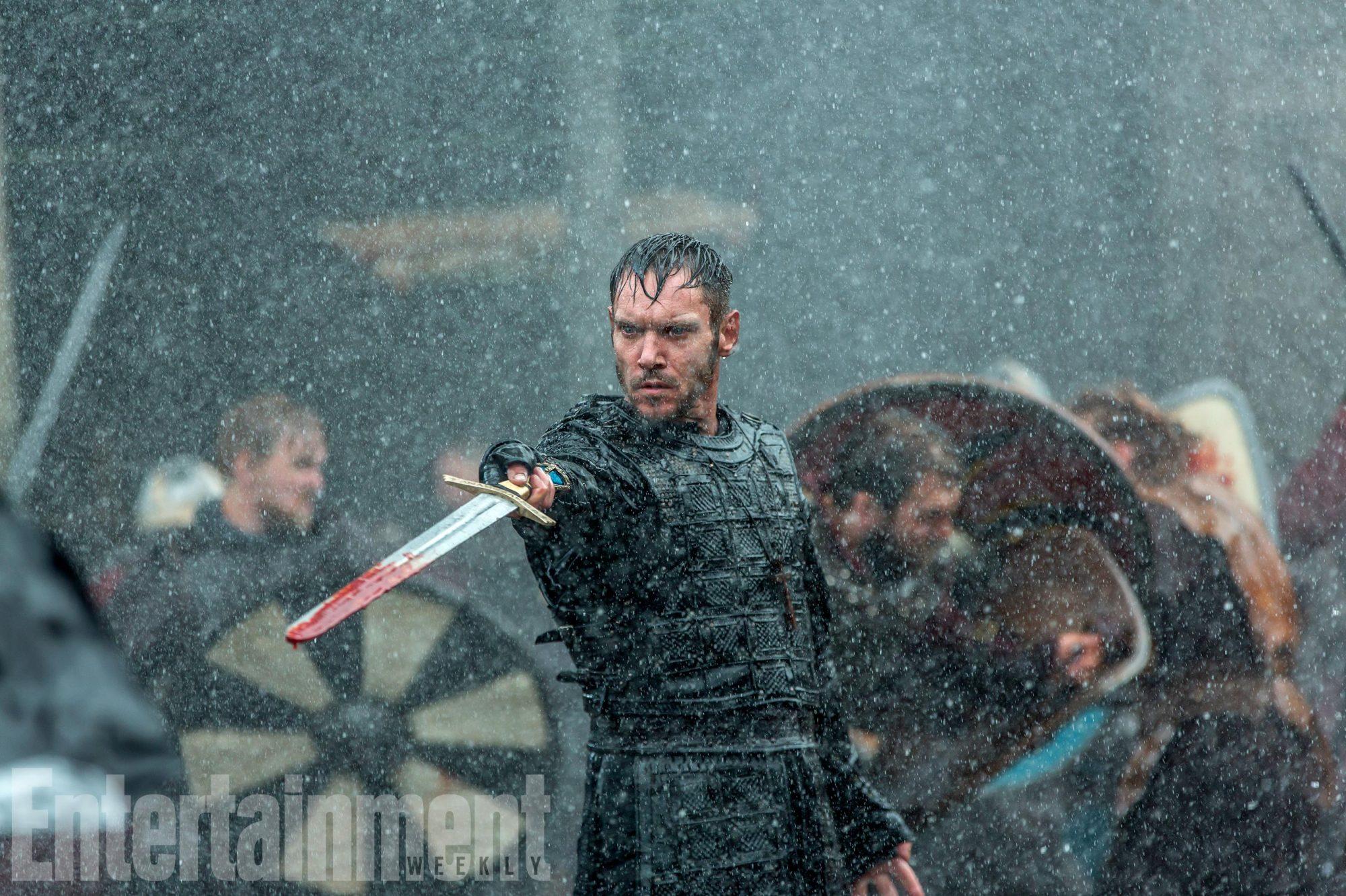 VIKINGSSeason 5, TKJonathan Rhys Meyers as Bishop Heahmund