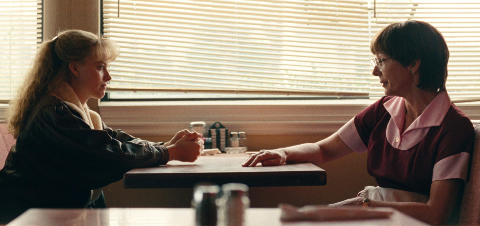 I TonyaPictured: Margot Robbie as Tonya Harding and Allison Janney as