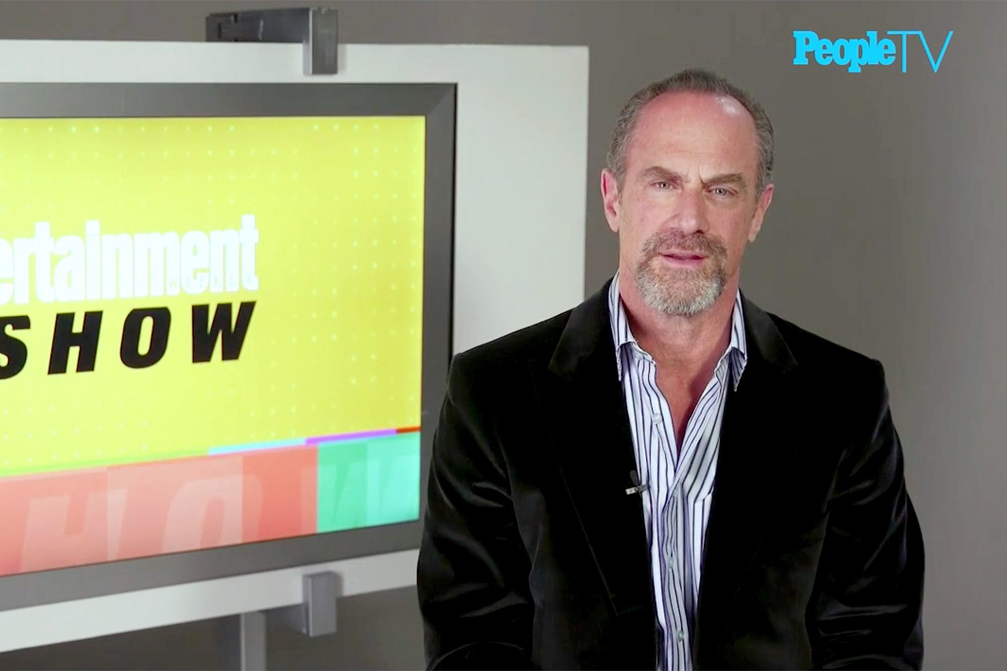 Christopher Meloni PeopleTV interview