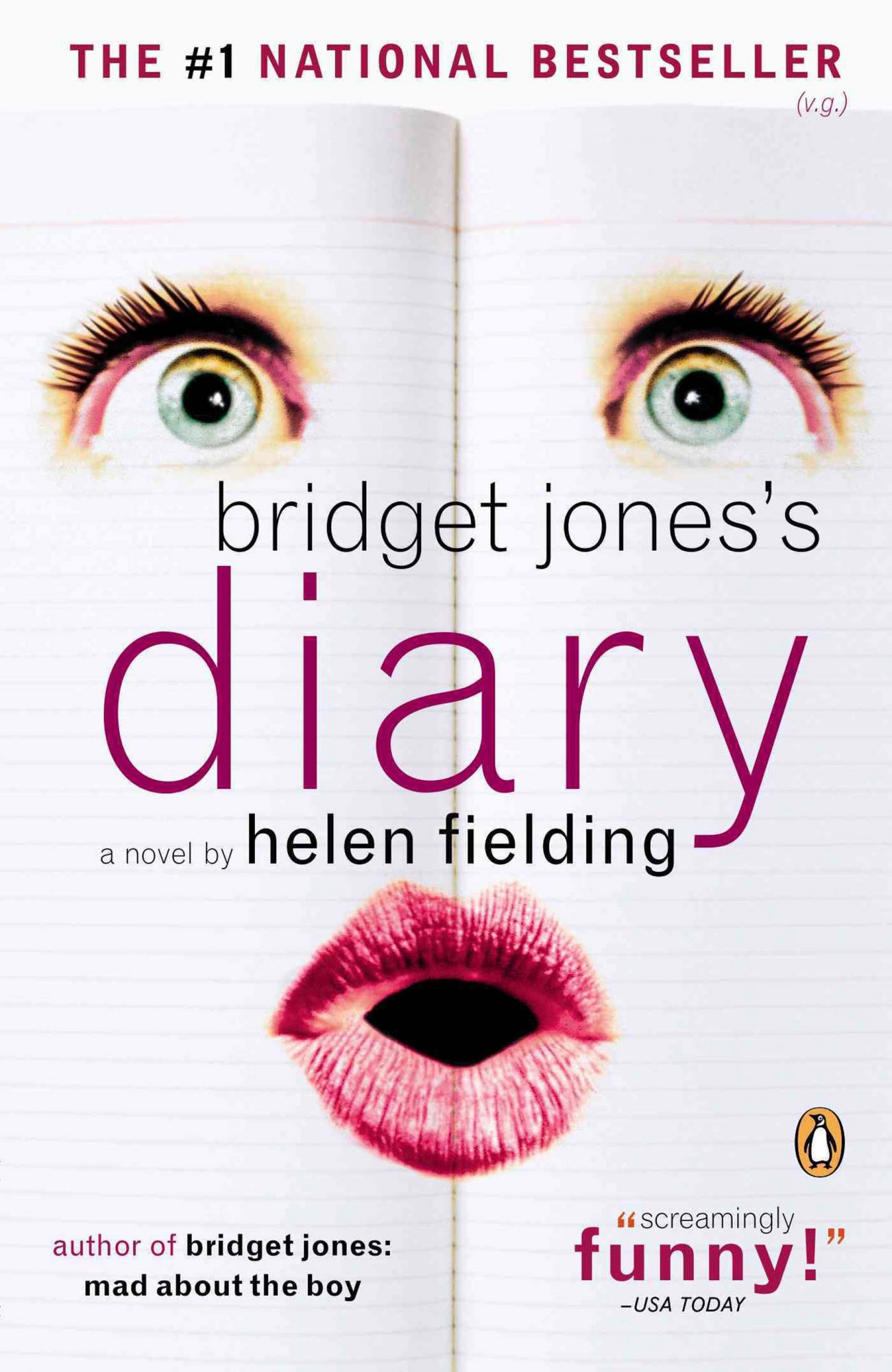 Bridget Jones's Diary by Helen Fielding