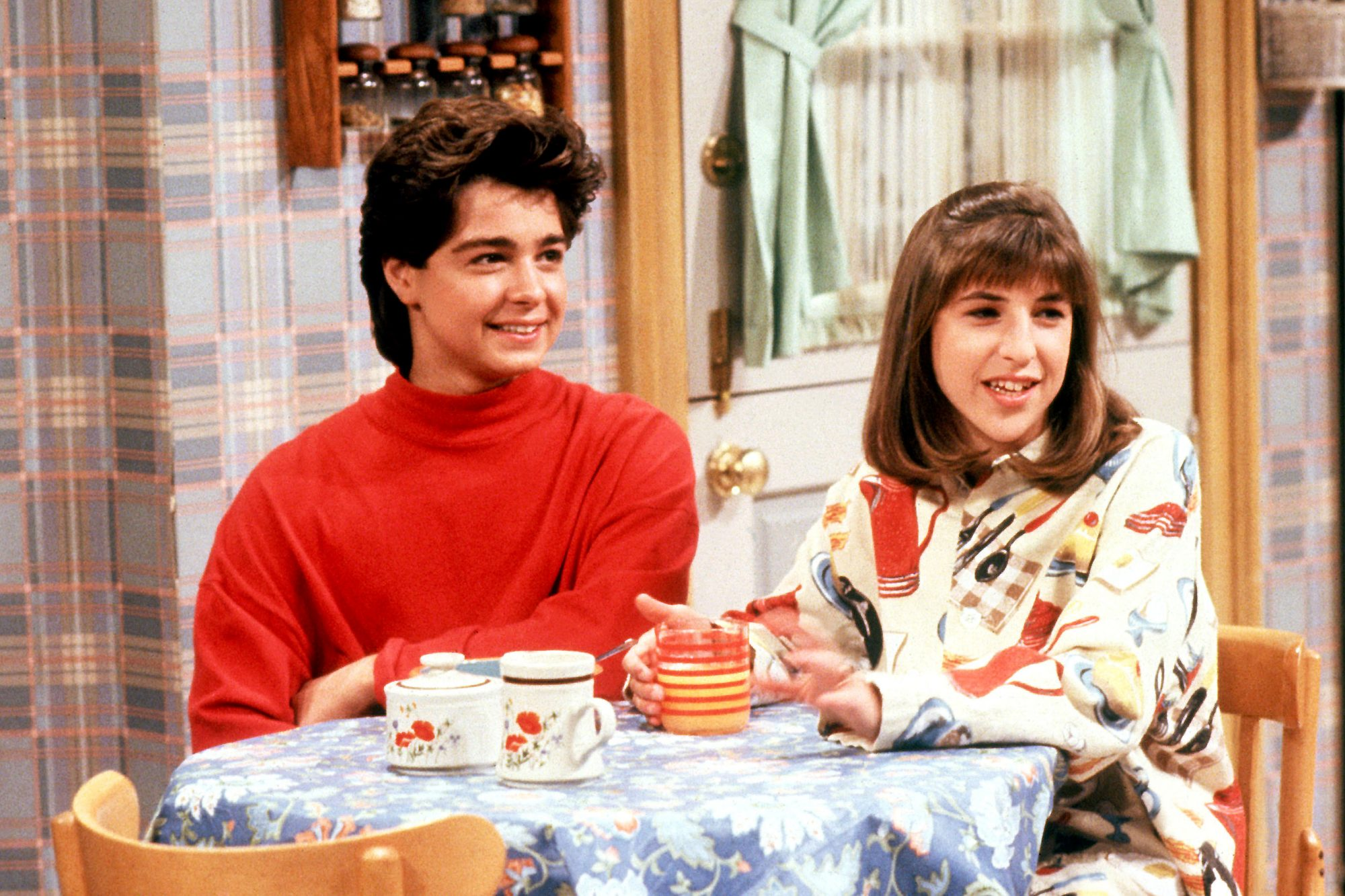 BLOSSOM, Joey Lawrence, Mayim Bialik, (Season 1), 1991-95, © Touchstone Television / courtesy Everet