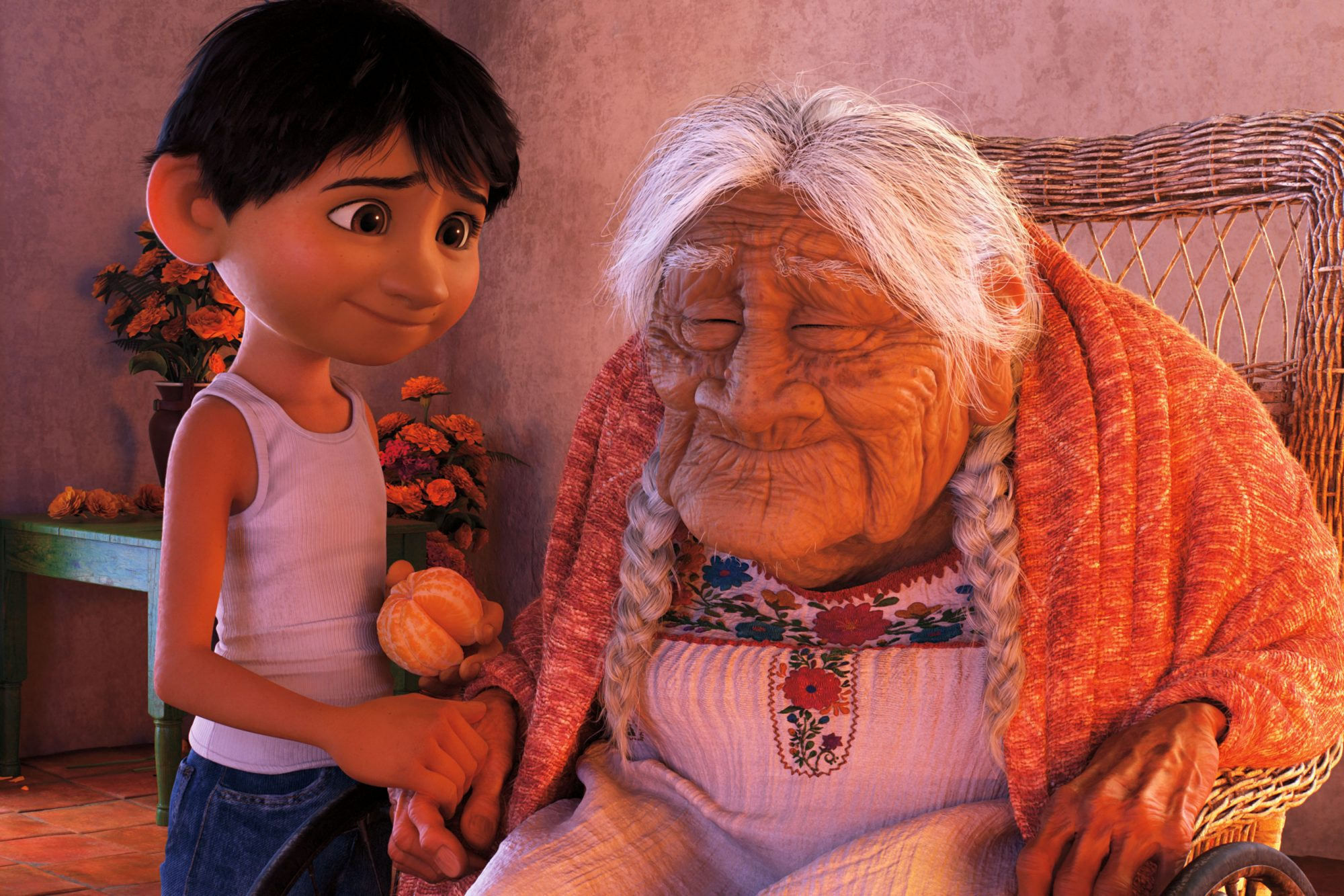 7.) Miguel and Coco sing  Remember Me  inCoco