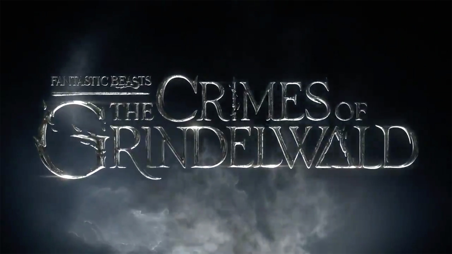 The new film's official title treatment