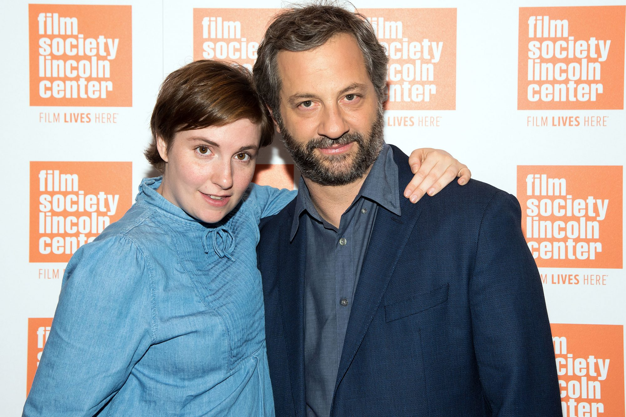 2015 Film Society Of Lincoln Center Summer Talks With Judd Apatow And Lena Dunham