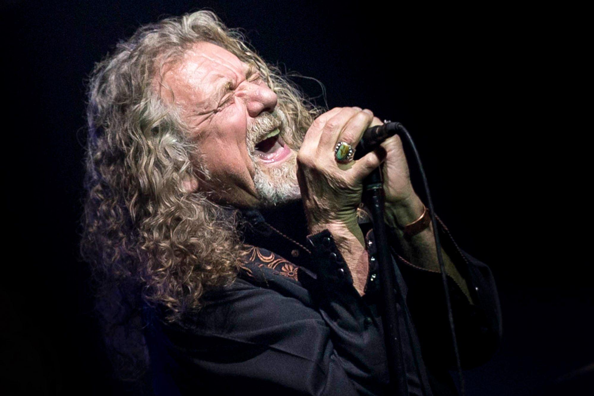 USA - Robert Plant Concert - Austin, TX