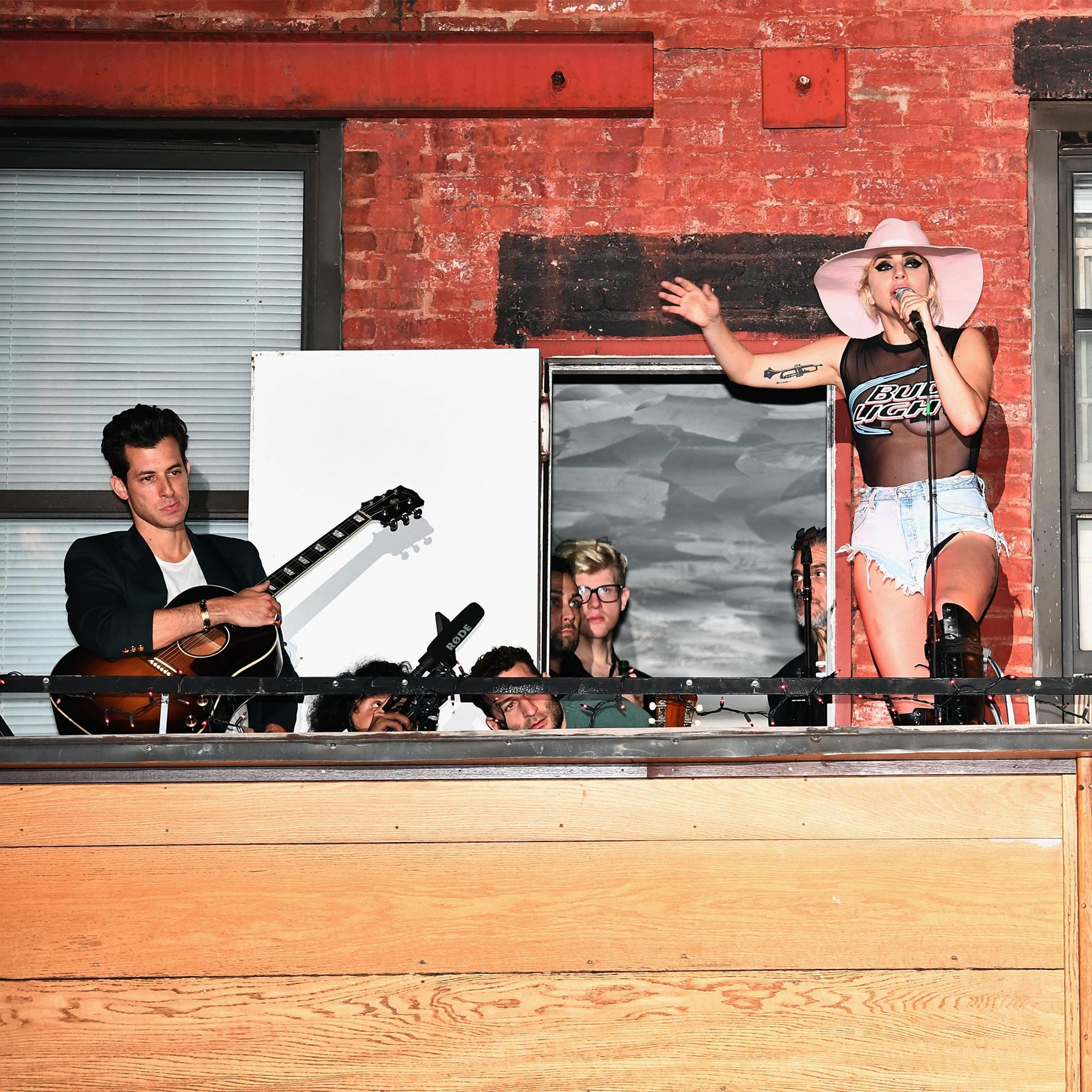 Bud Light X Lady Gaga Dive Bar Tour In NYC