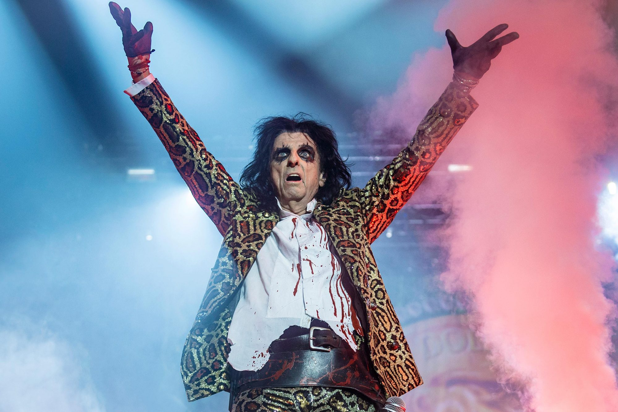 Alice Cooper Performs At Wembley Arena