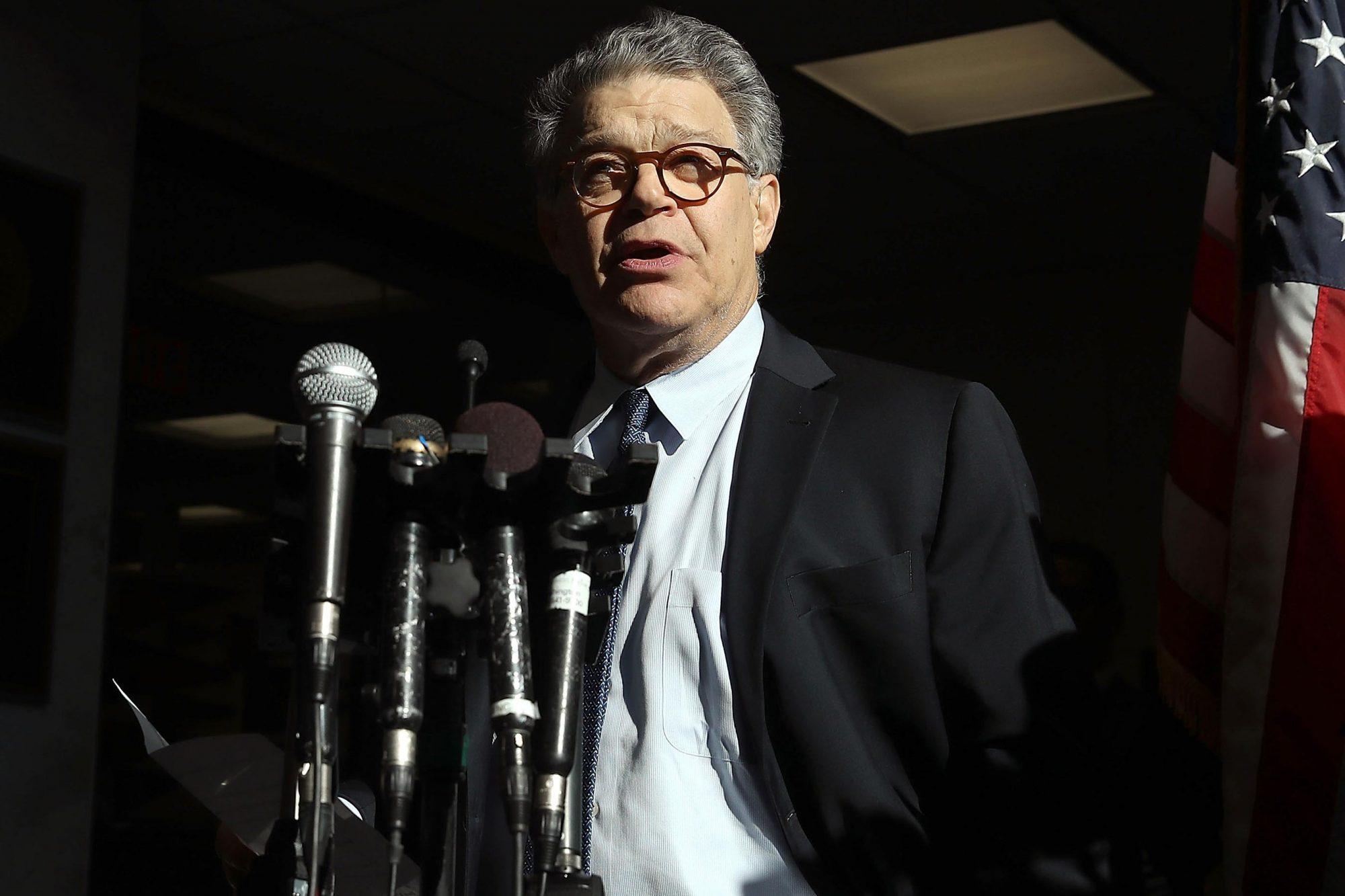 Sen. Al Franken Returns To Work On Capitol Hill After Sex Harrassment Claims