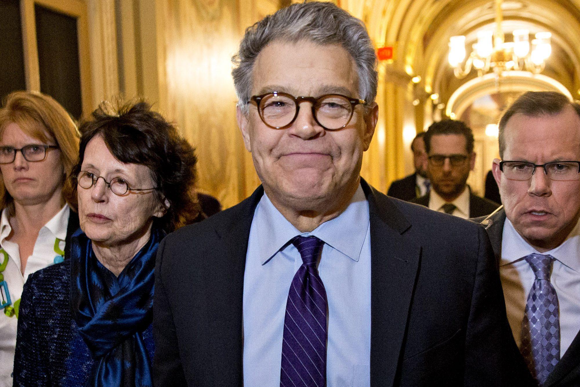 Senator Franken Quits Senate Amid Turmoil Over Misconduct Allegations
