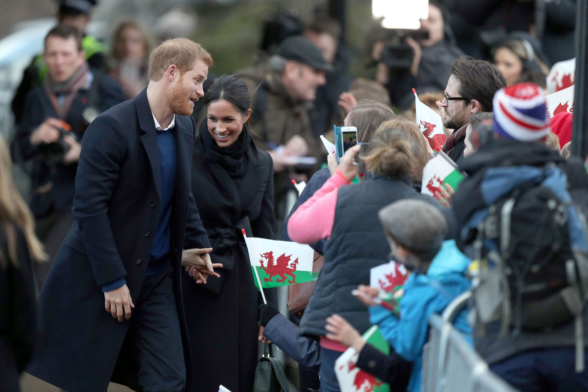 Prince Harry visit to Cardiff Castle