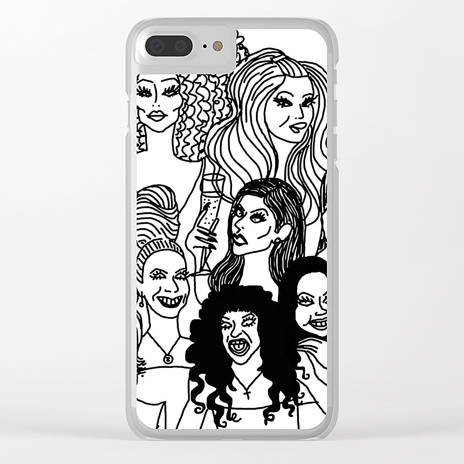 Real Housewives iPhone Case