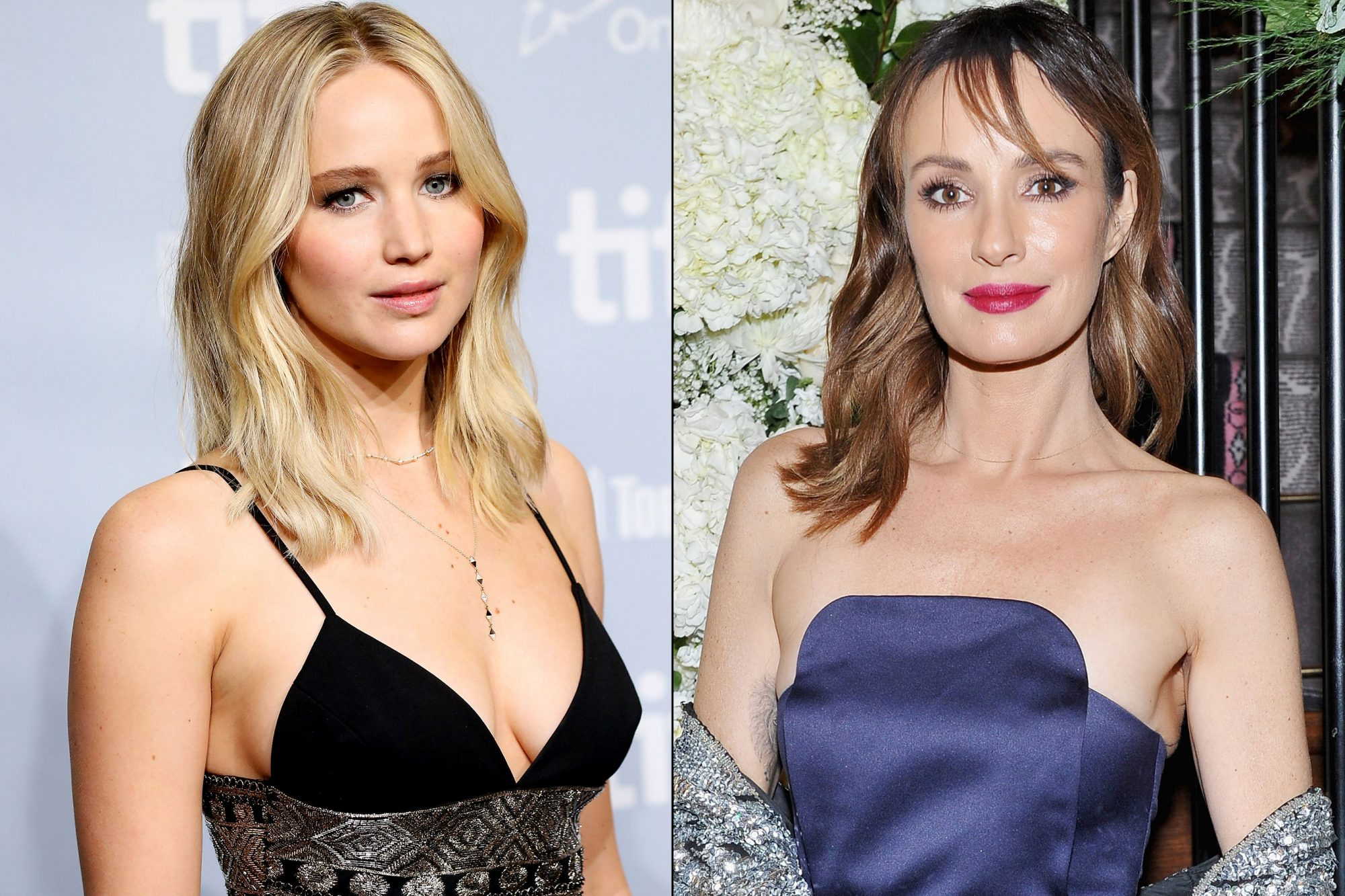 Jennifer Lawrence and Catt Sadler