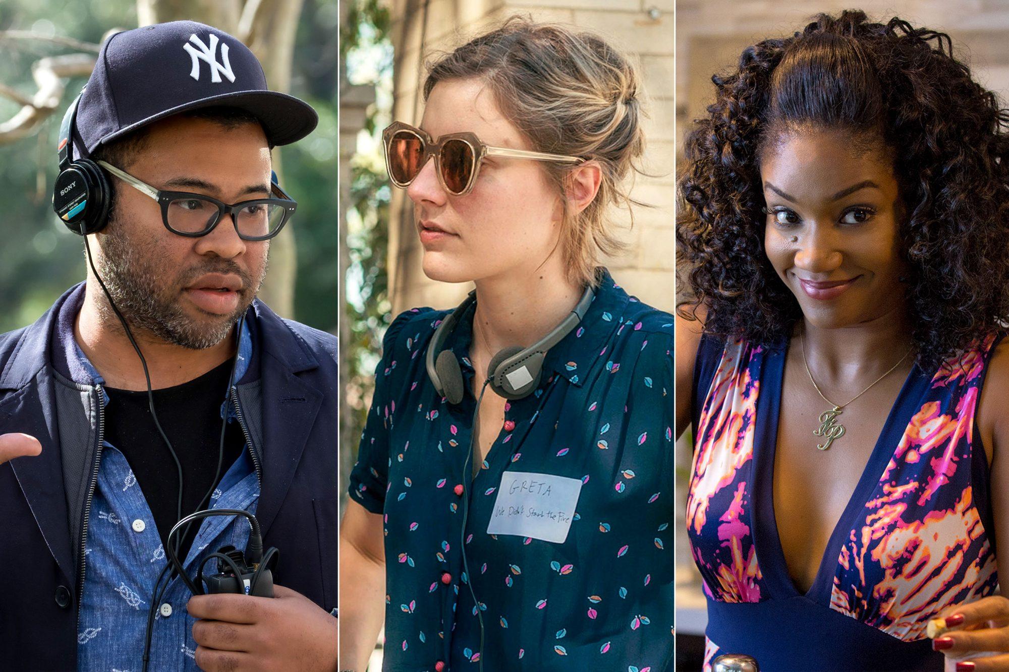 Jordan Peele / Greta Gerwig / Tiffany Haddish