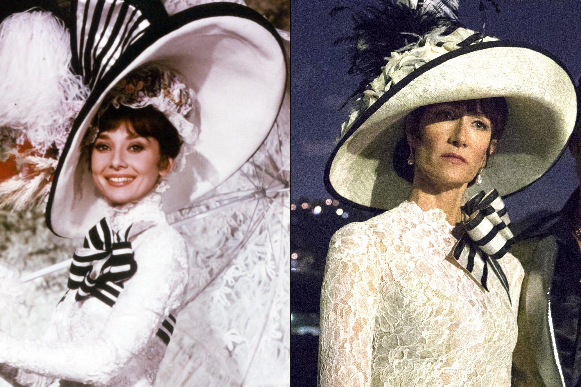 Laura-Dern-in-My-Fair-Lady-ascot-dress