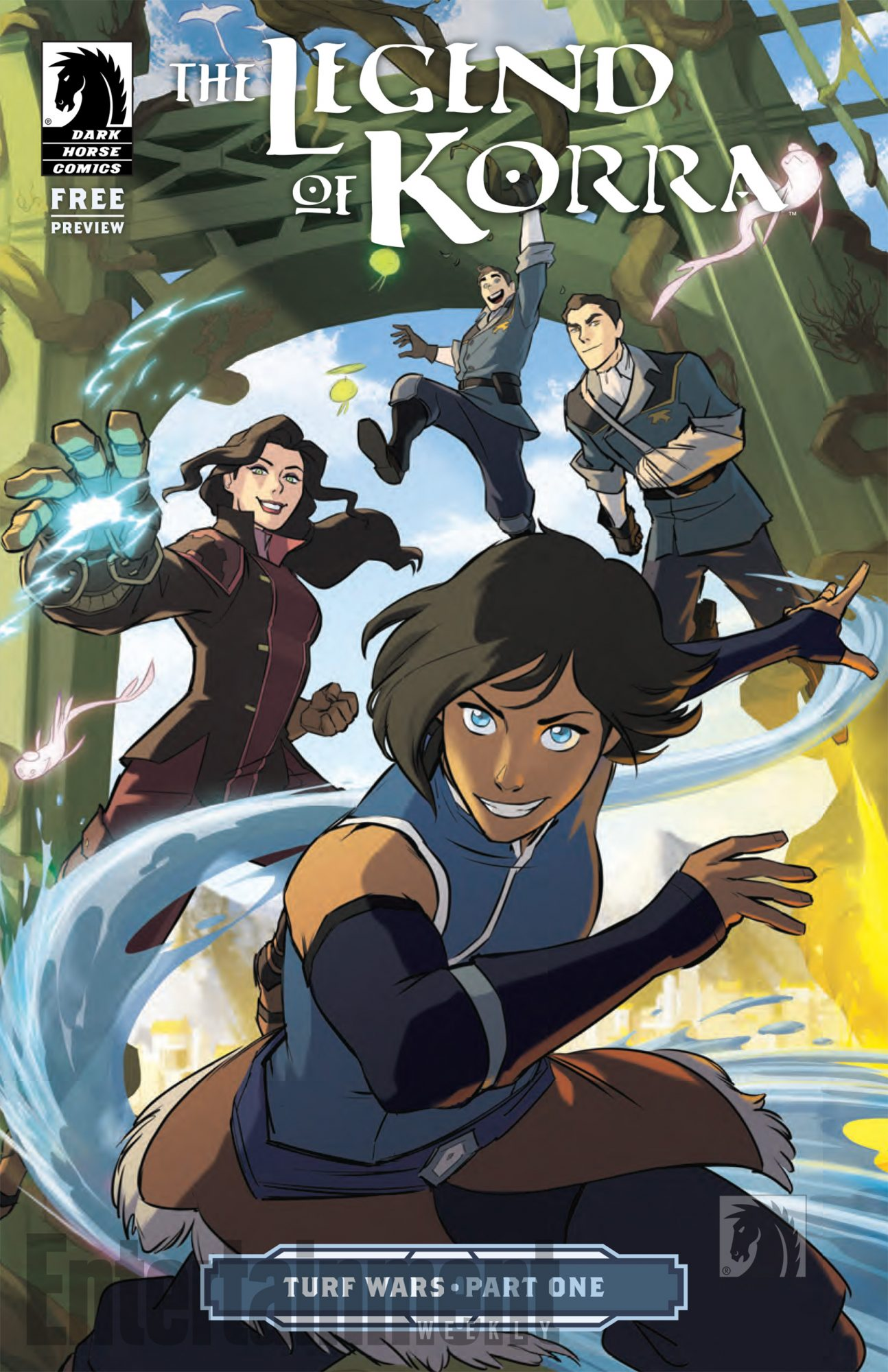 Best All-Ages Comic: The Legend of Korra: Turf Wars (Dark Horse)