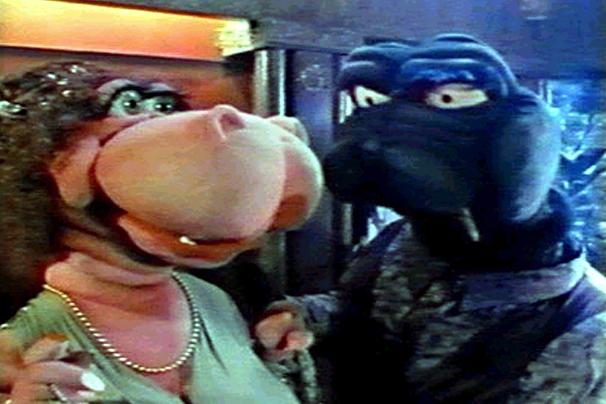 MEET THE FEEBLES, 1989 animated film.