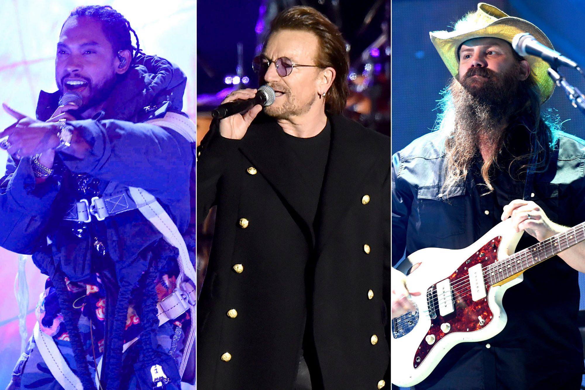 Miguel / Bono / Chris Stapleton