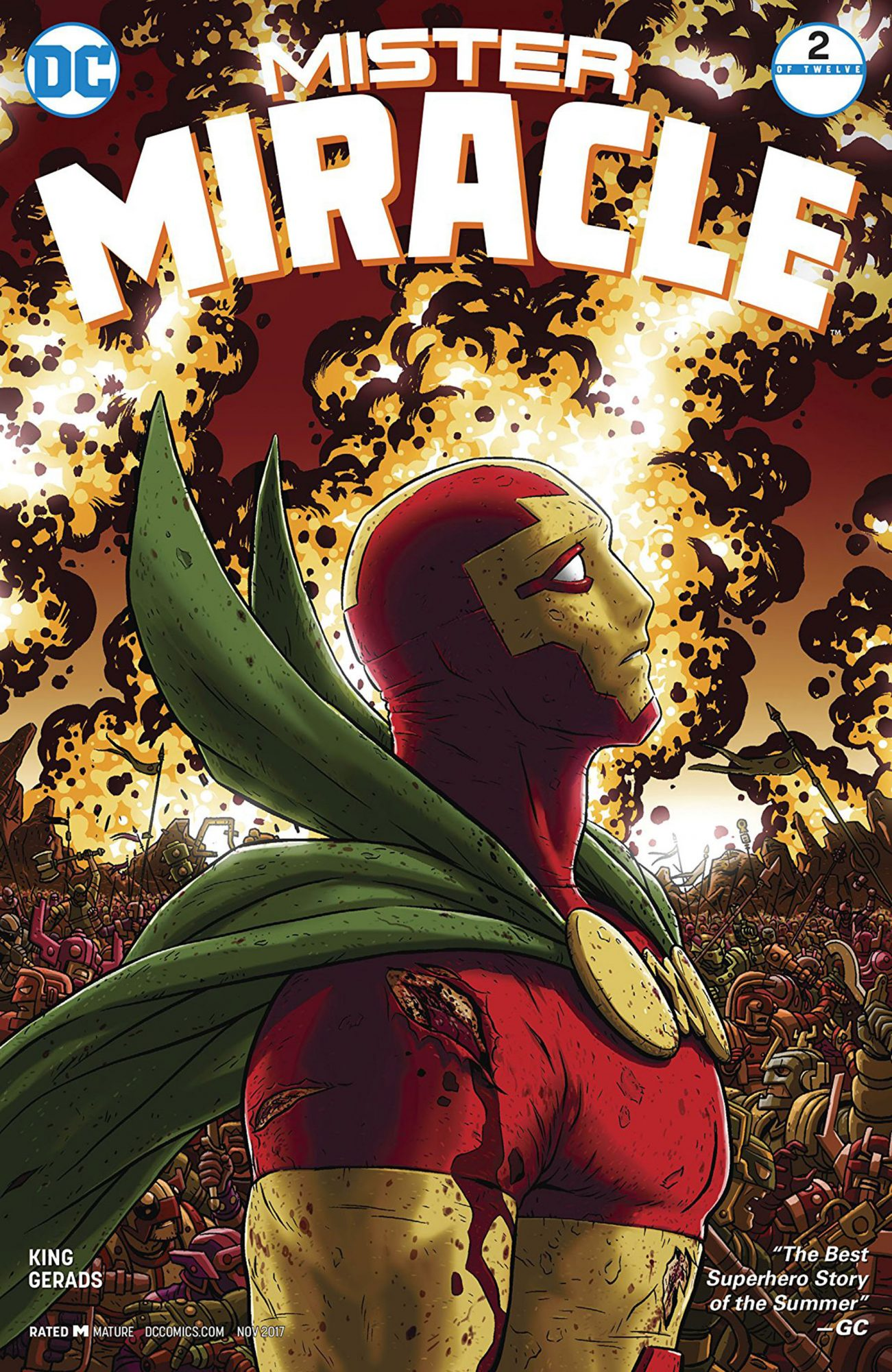 Best Series: Mister Miracle (DC)
