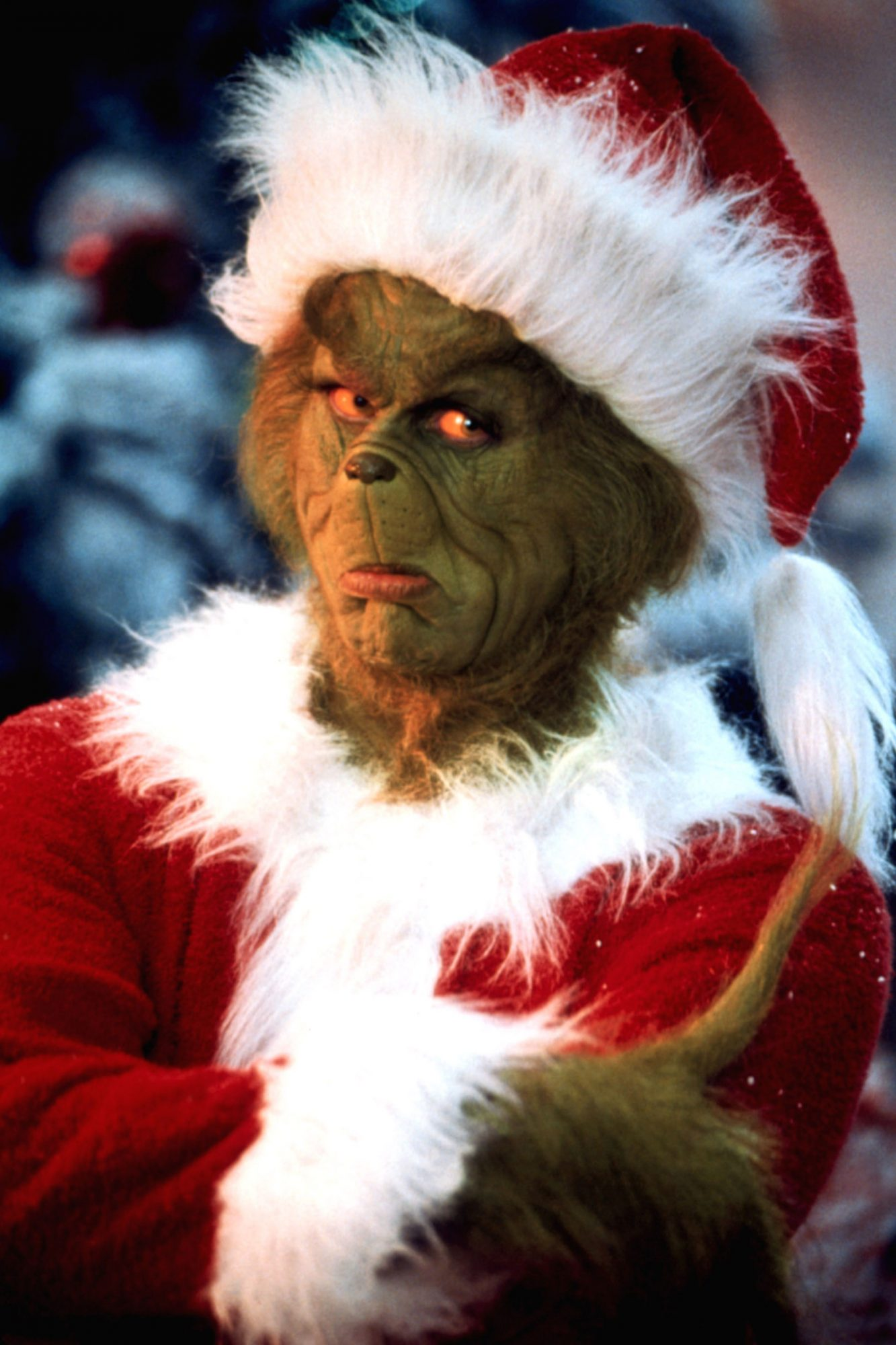 DR. SEUSS' HOW THE GRINCH STOLE CHRISTMAS, Jim Carrey, 2000