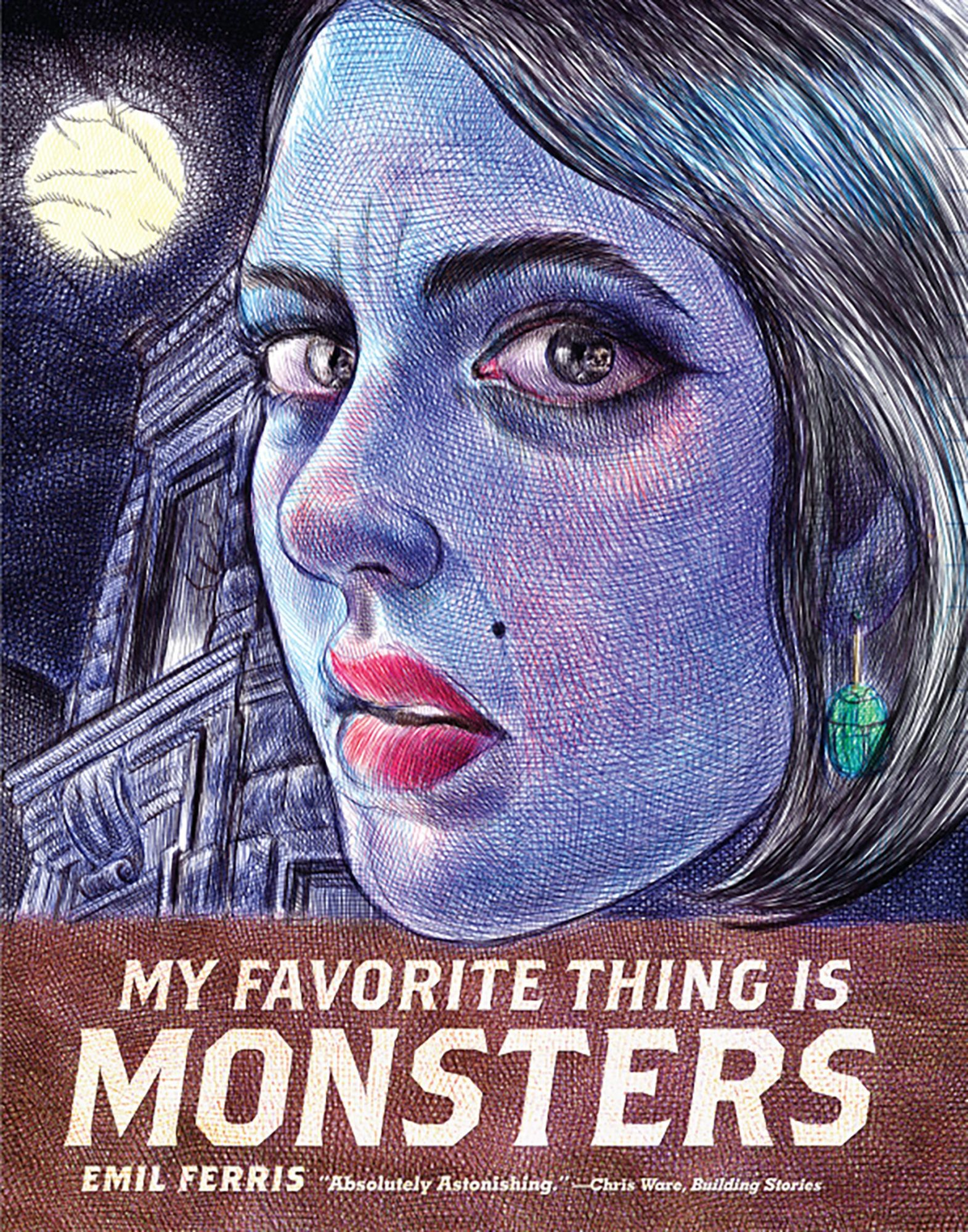 Best Graphic Novel: My Favorite Thing Is Monsters (Fantagraphics)