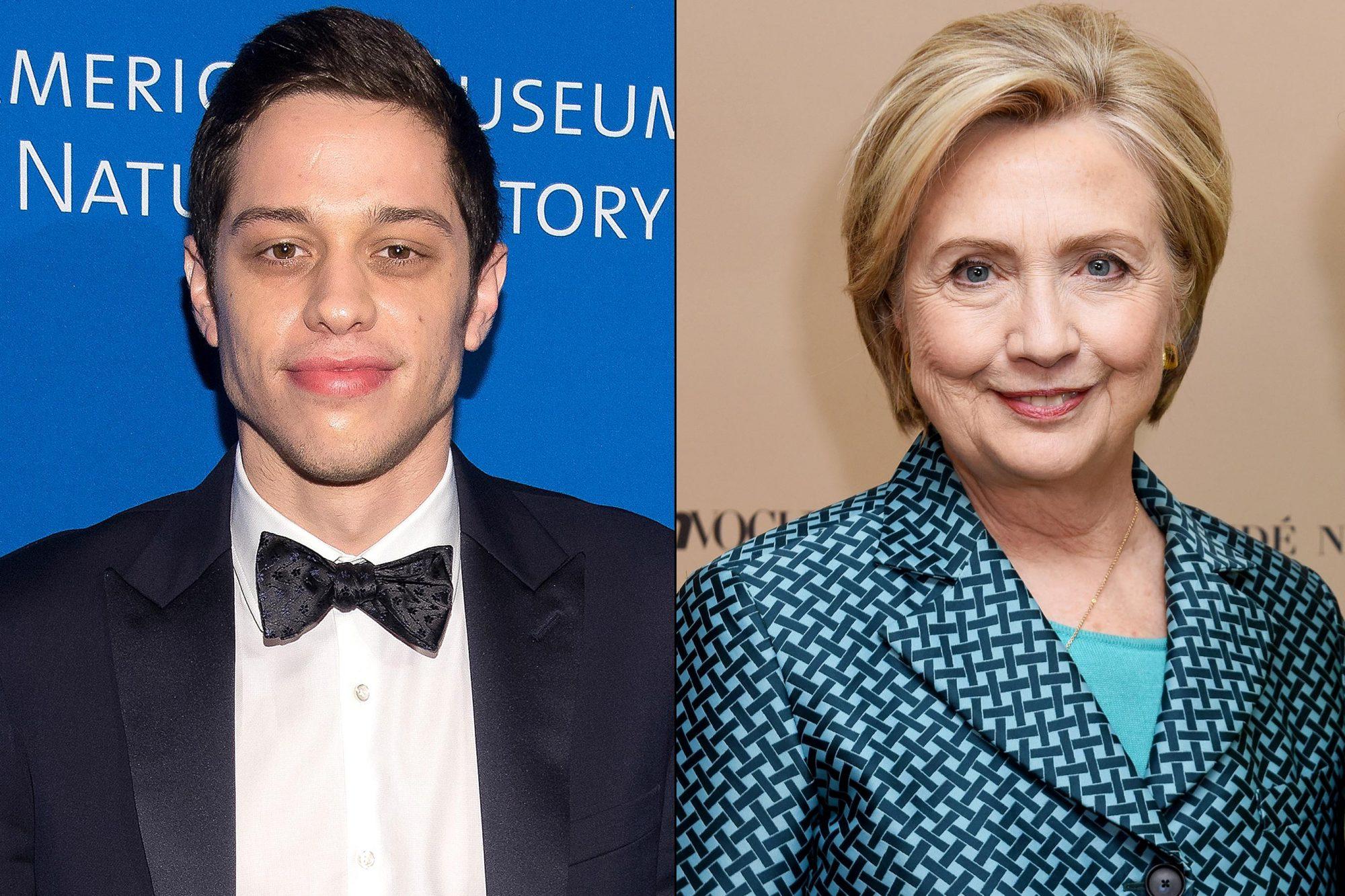 Pete Davidson / Hillary Clinton