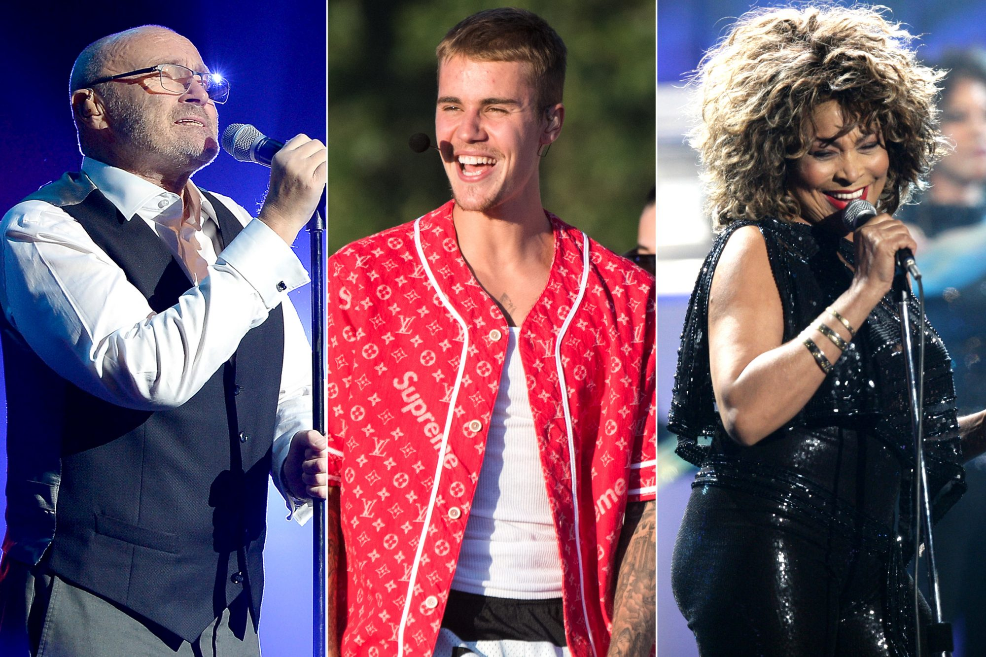 Phil-Collins-Justin-Bieber-Tina-Turner