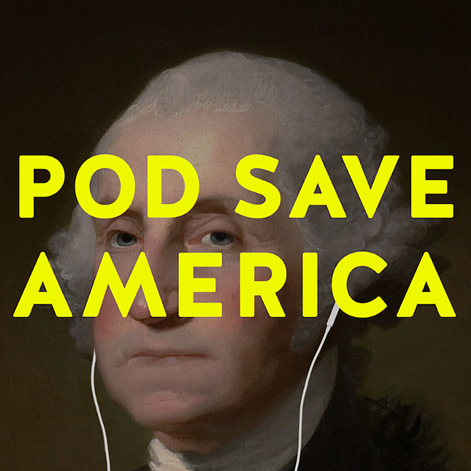Pod Save America Cover art by Jesse McLean