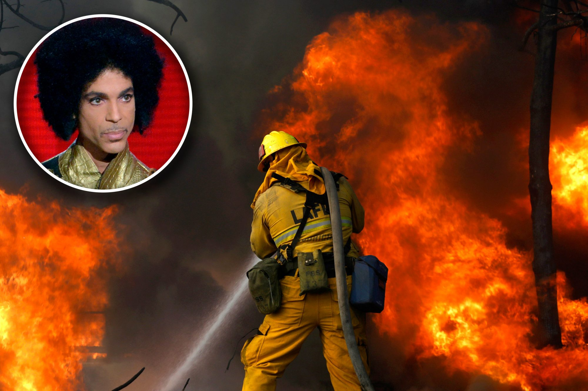 Prince / Skirball fire