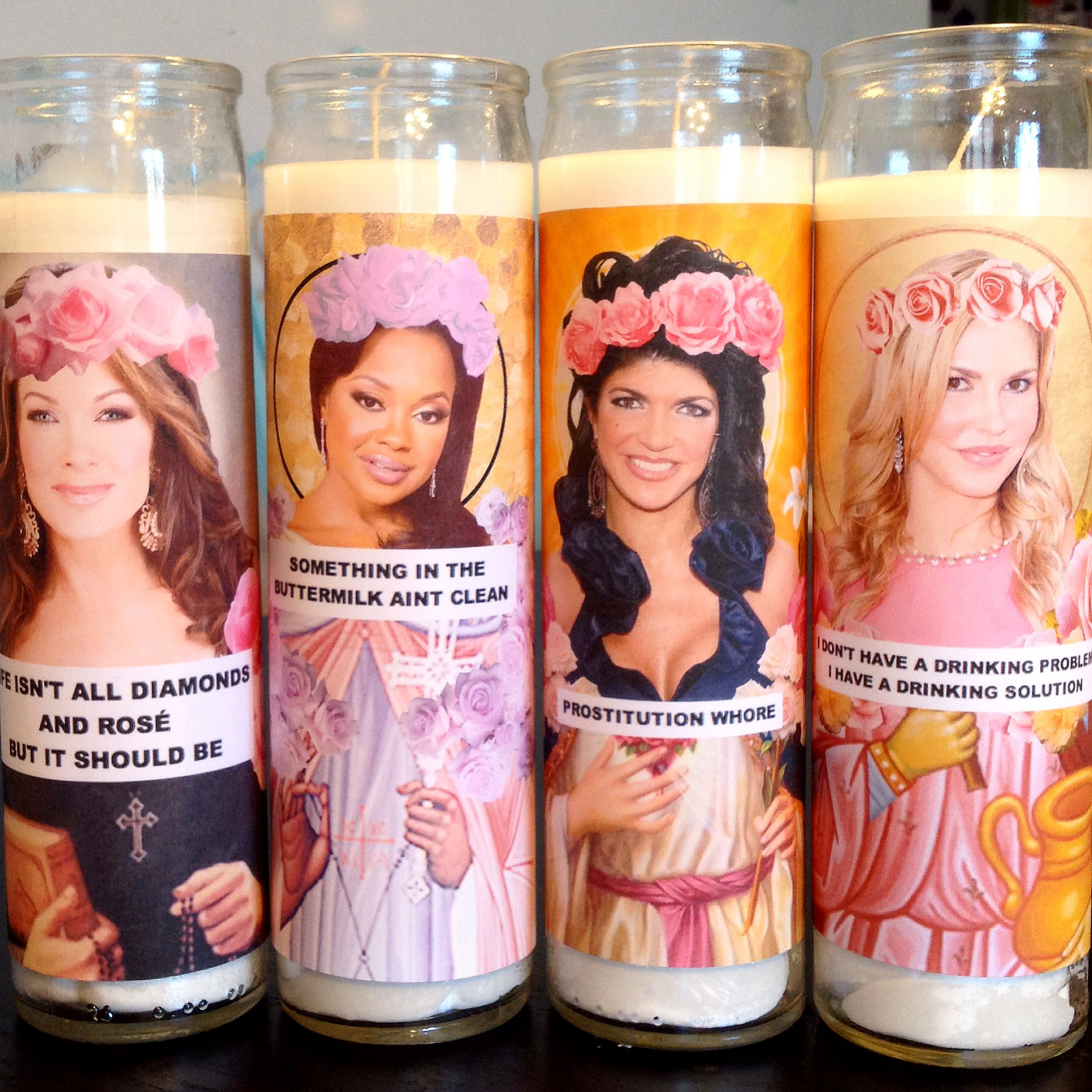 Saint Housewives Candles