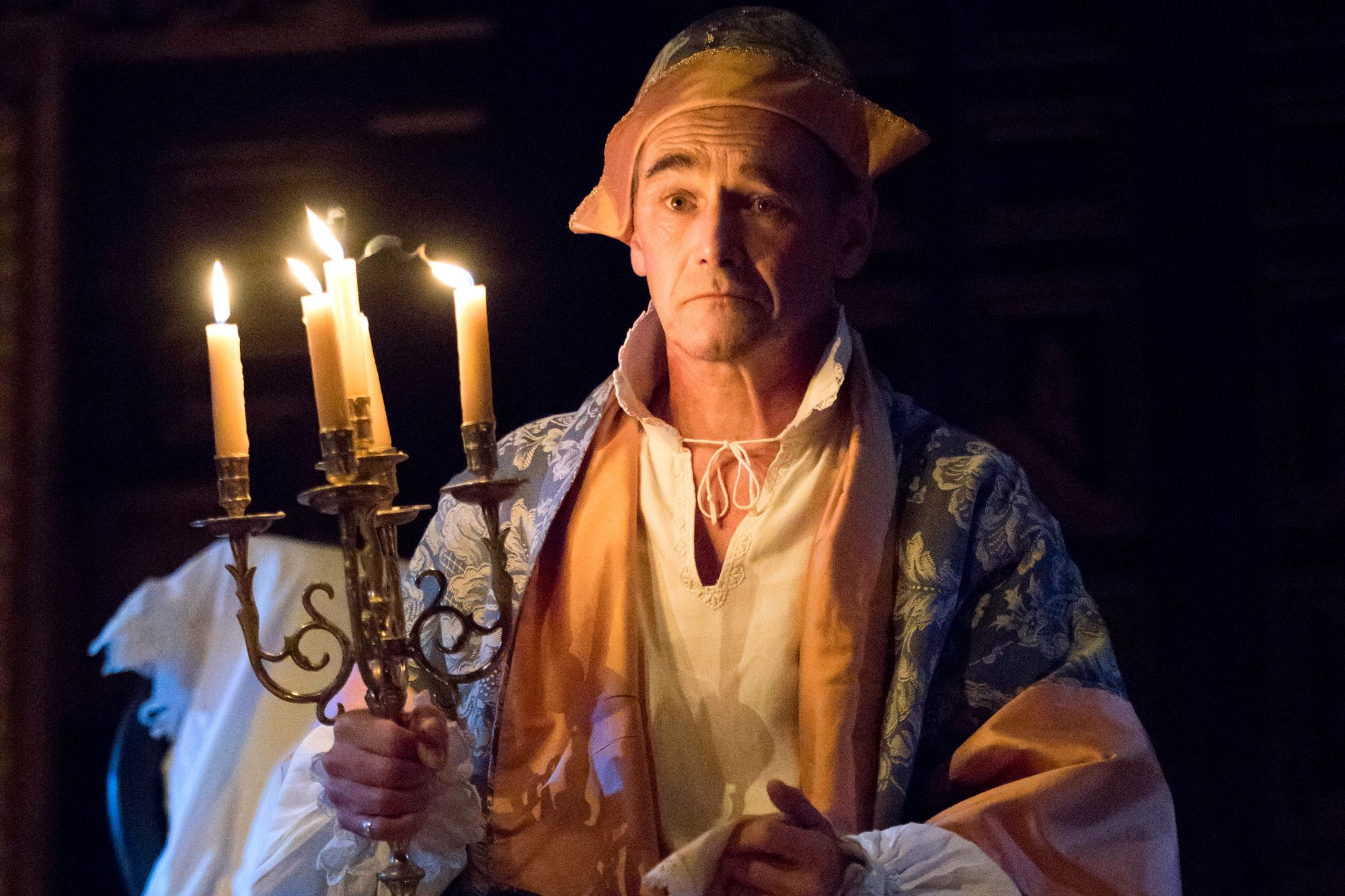 Rylance in Farinelli and the King (c) Joan Marcus 0015