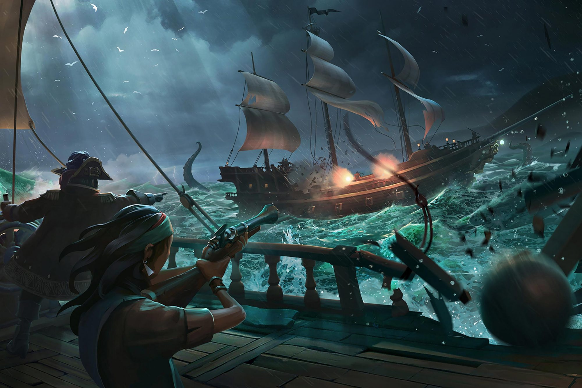 Sea of Thieves video game (2018) CR: Microsoft Studios