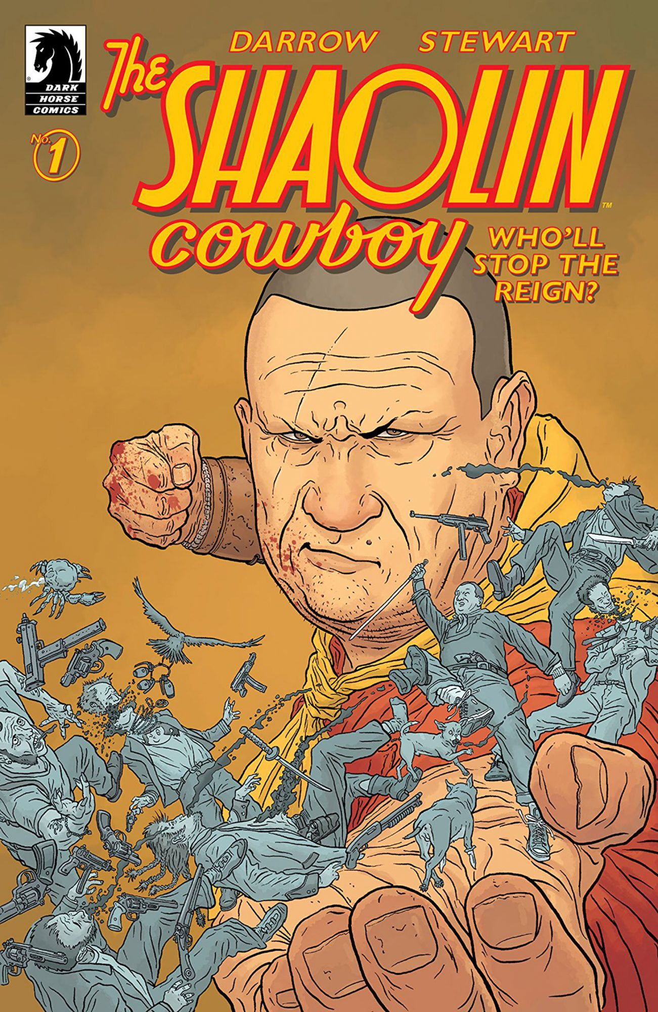 Best Political Commentary: Shaolin Cowboy: Who'll Stop the Reign? (Dark Horse)