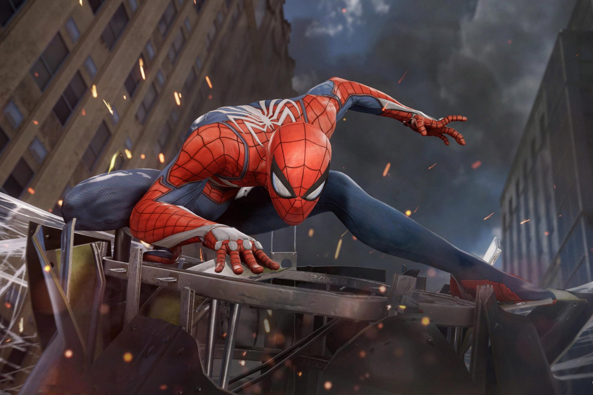 Spider-Man video game (2018) CR: Sony Interactive Entertainment
