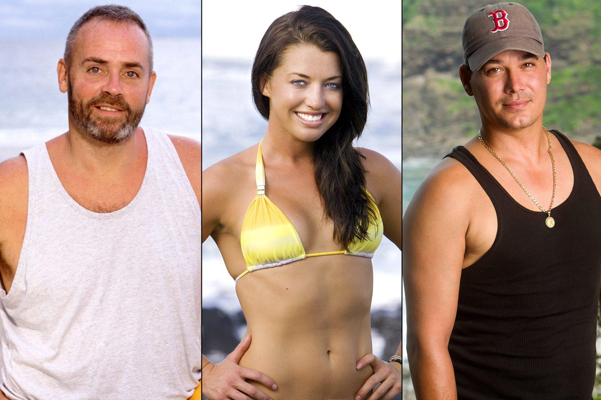 Survivor Winners: Richard Hatch / Parvati Shallow / Rob Mariano