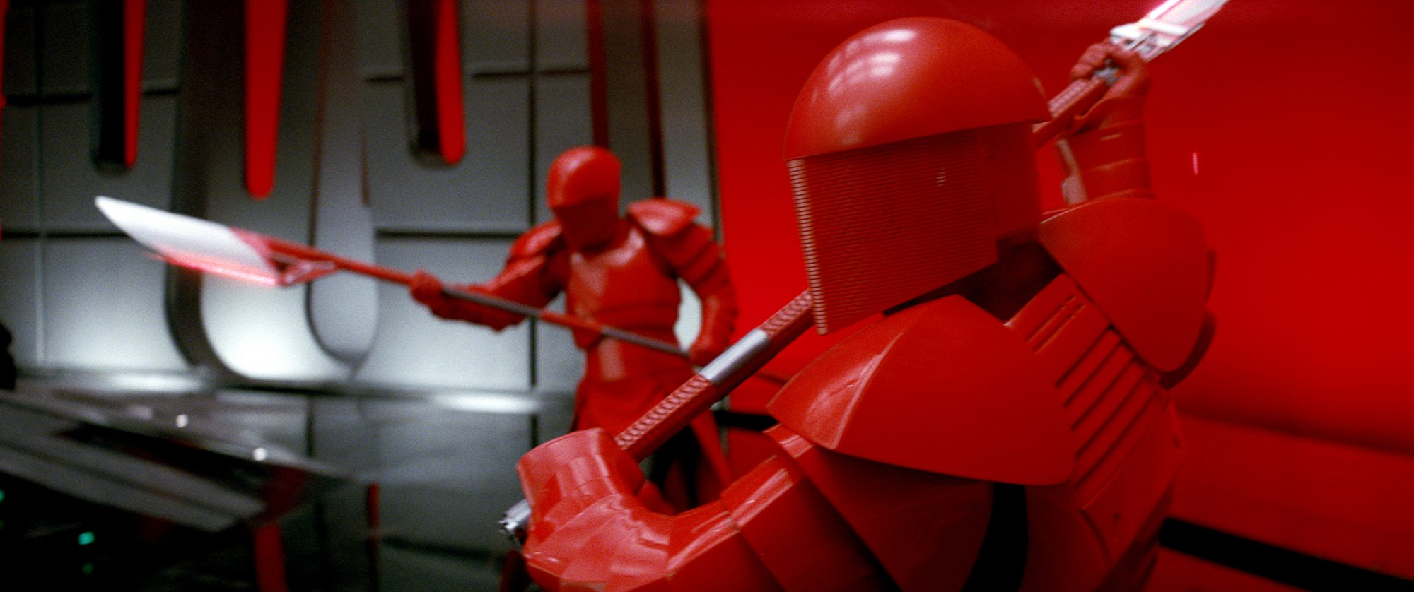 2.) Snoke's throne room inStar Wars: The Last Jed (Spoilers)