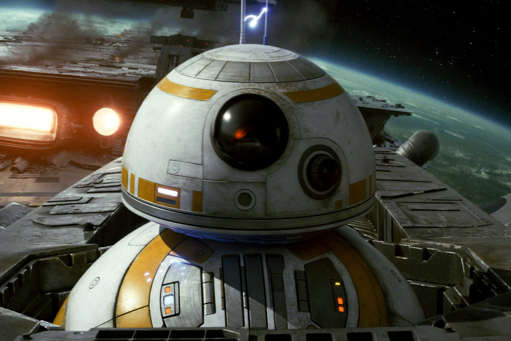 2. BB-8 (The Force Awakens)