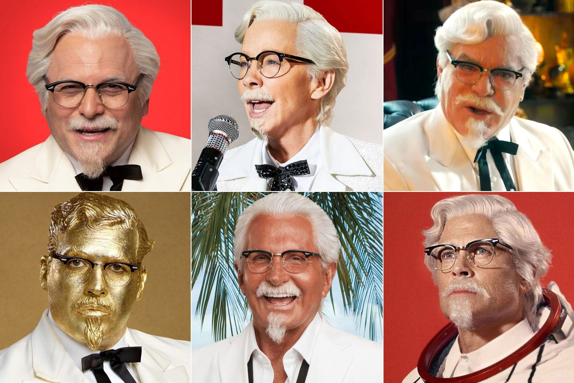 Kfc Christmas Carol Commercial 2020 KFC commercials: Every person who's played Colonel Sanders | EW.com