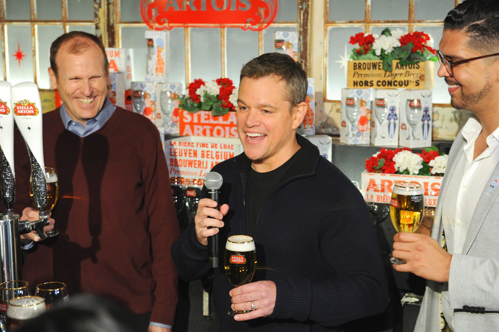 STELLA ARTOIS, MATT DAMON AND WATER.ORG ENCOURAGE AMERICANS TO MAKE SUPER BOWL PARTIES MATTER
